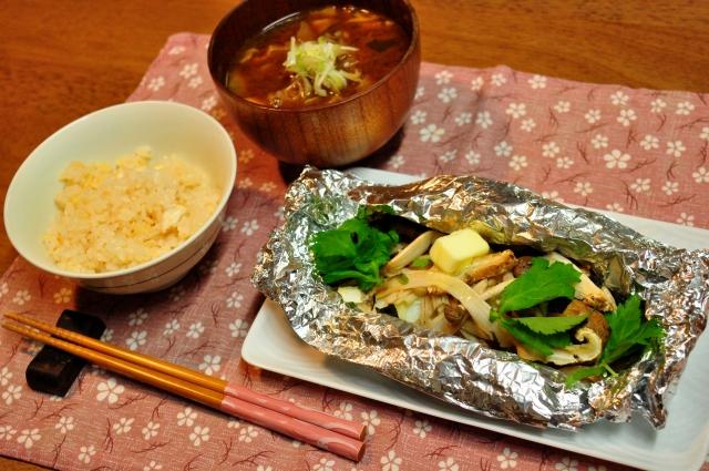 kale-mushroom-fried-butter-soy