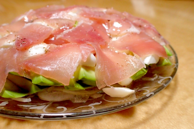 cottage-cheese-avocado-uncured-ham-salad