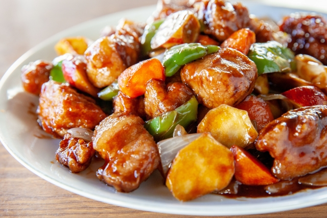 soy-meat-sweet-and-sour-pork