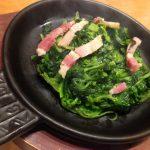 kale-garlic-fried-bacon