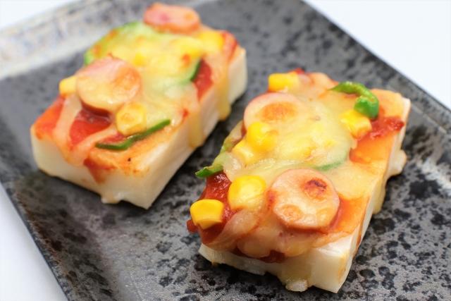 kagami-mochi-pizza