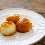 kagami-mochi-frying-pan-sugar-soy-sauce