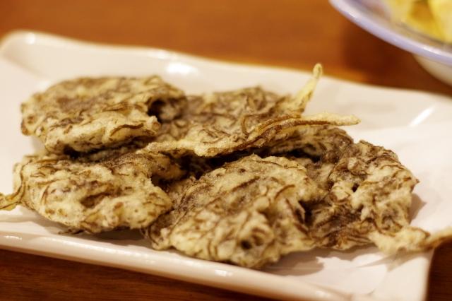 mozuku-tempura