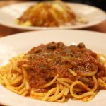 tomato-beef-and-pork-ground-meat-meat-sauce-pasta