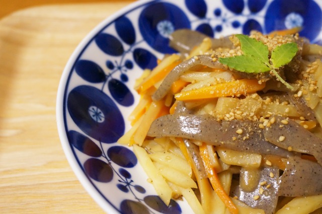 potato-and-carrot-kinpira