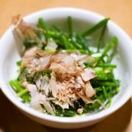 boiled-greens-with-dressing-of-the-chinese-chives-dried-bonito