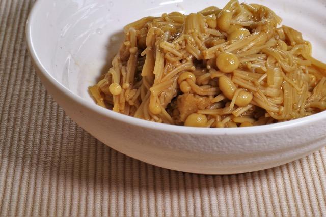 homemade-namitake-enoki-mushroom-boiled-in-soy