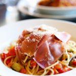 tomato-eggplant-pasta