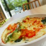 Macaroni-gratin-of-asparagus-and-the-tomato