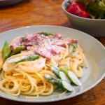 cream-pasta-of-the-asparagus-bacon